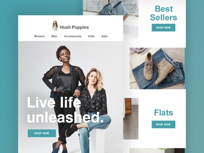 Hush Puppies Welcome Email AW18