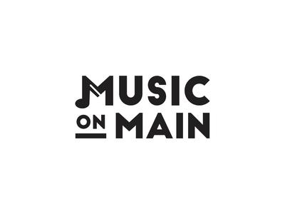 Music on Main Logo