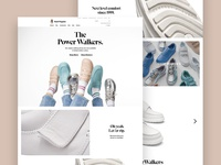 Hush Puppies Power Walkers Landing Page