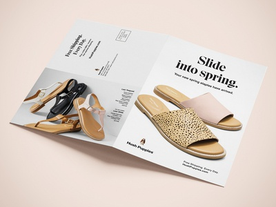 Hush Puppies Spring/Summer 2020 Direct Mail