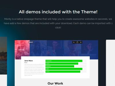 Landind Page Design Collaboration for a Dev Team