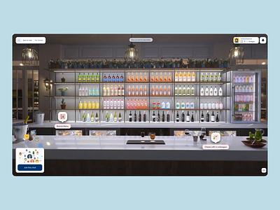Les Embiez 2021 - 360 Bars rollover navigation interactive webgl playlist bar drag 360 3d website ux animation ui motion web