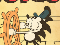 Steamboat Sonic poster