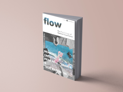 Book cover design - Flow
