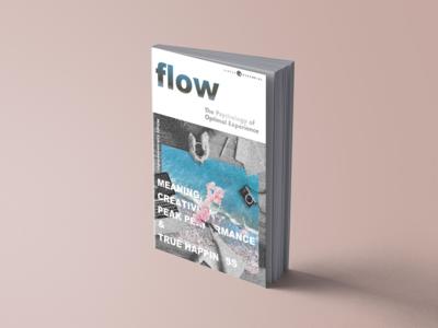 Book cover design - Flow