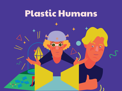 Plastic Humans – Just Another Illustration Set vector app ui design illustration