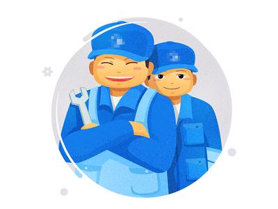 维修员Repair personnel
