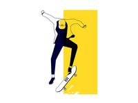 Skate bored