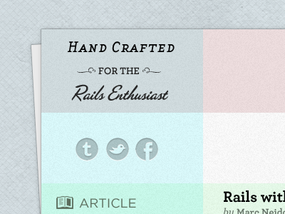 Rails With Charlie Sheen blog social