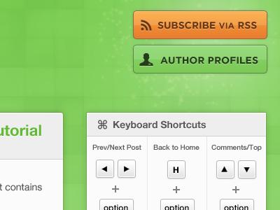 SproutCore Blog Redesign sproutcore blog buttons green