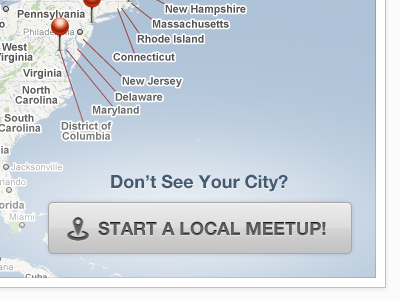 User Groups Animation - Video Clip map animation meetup