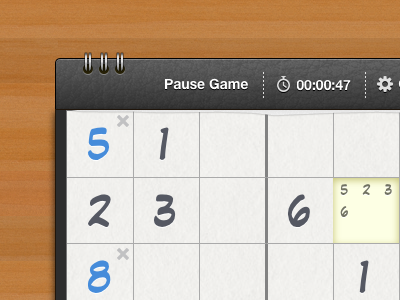 Sudoku5 - HTML5/Sproutcore Sudoku Game html5 sproutcore game