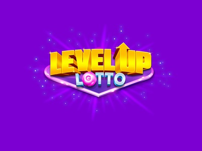 Logo for Level Up Lotto