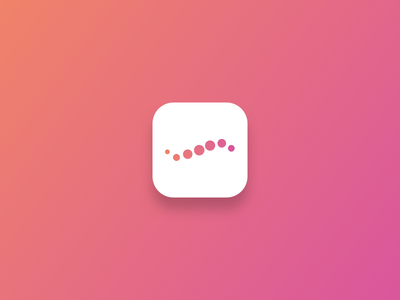 iOS icon proposal progression app icon wave dots icon ios
