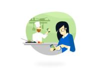 Illustration - Chef