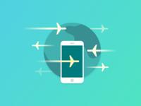 Add Flights - Icon