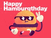 ¡Hamburgthday!