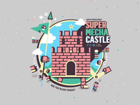 Super Mecha Castle Mario Bros