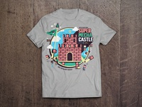 Super Mecha Castle Mario Bros' Shirt