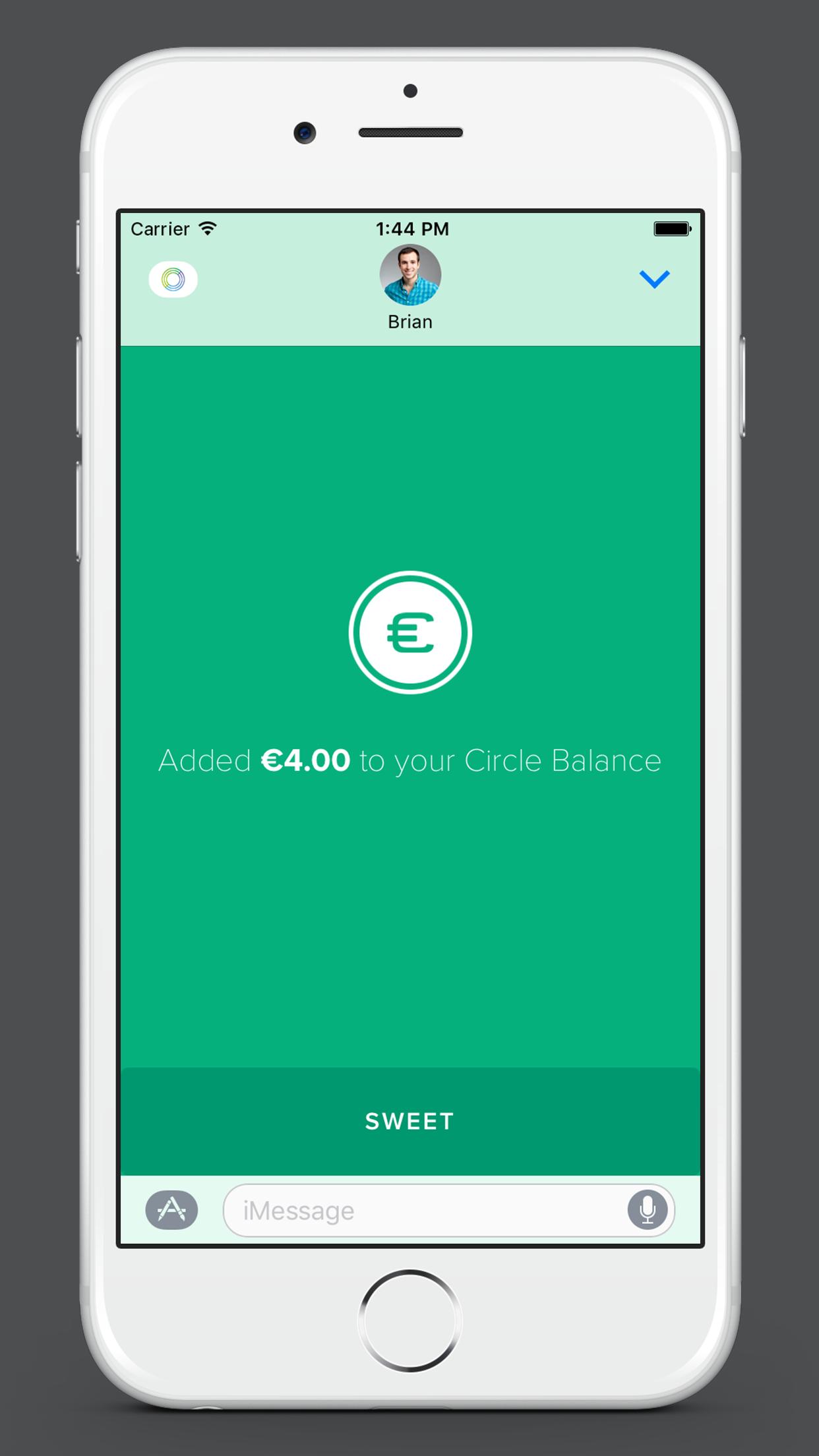 Circle imessage app 03