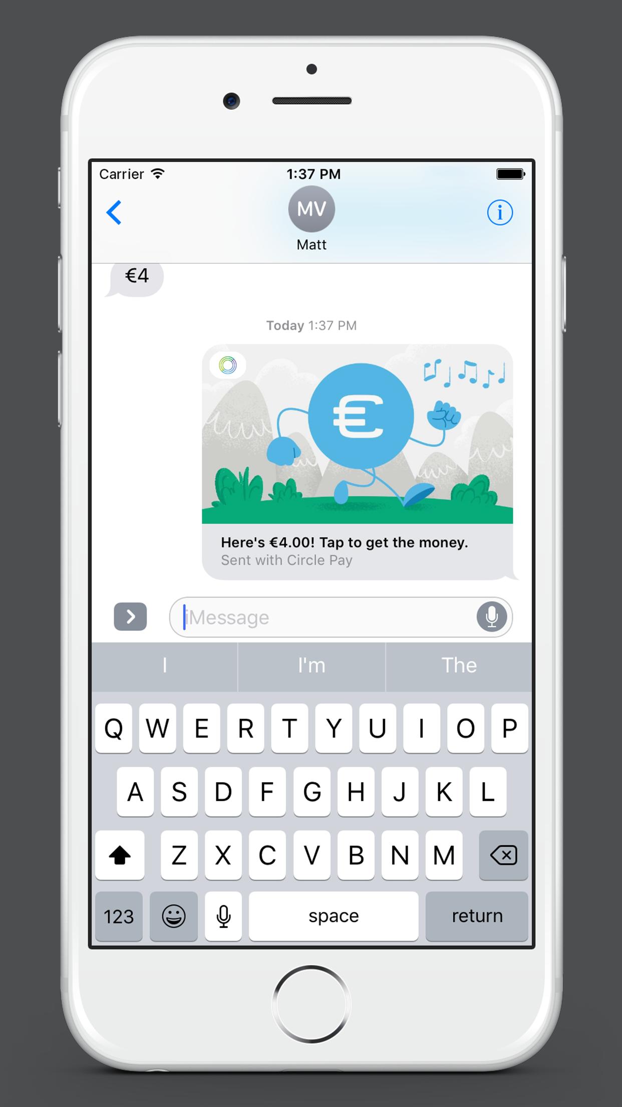 Circle imessage app 02