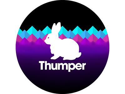 2017 Sticker rave bunny sticker print not work burning man