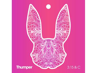 2018 Sticker brand illustration burningman sticker