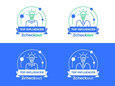 2Checkout Top Influencer Badge