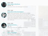 Agenda - #condevdk