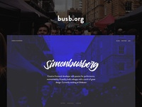 busb.org – Personal website