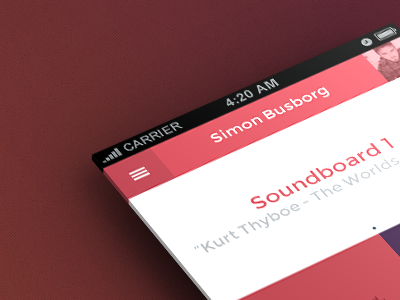 Soundboard iOS App invite app ios flat sound board soundboard design mobile free download icons typography font icon iphone ipad apple osx