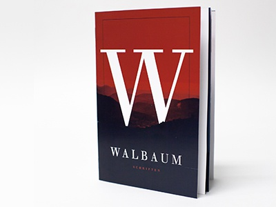 Walbaum Type Specimen Book walbaum book type typography design specimen modern bodoni didot type specimen book cover graphic design