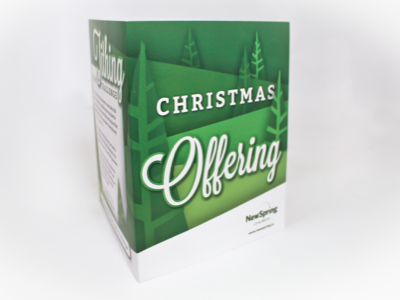 NewSpring Christmas  Offering DVD Sleeve