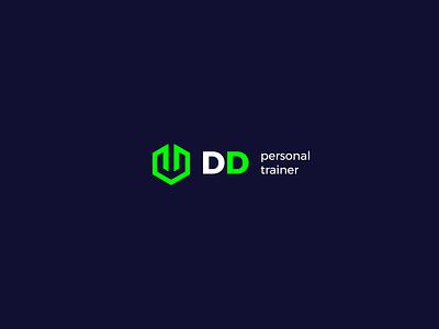 Diogo Darck Personal Trainer personal trainer graphicdesign logotype visual id mark logo design logo