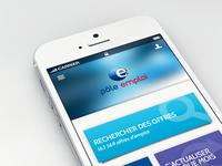 Pole emploi new app