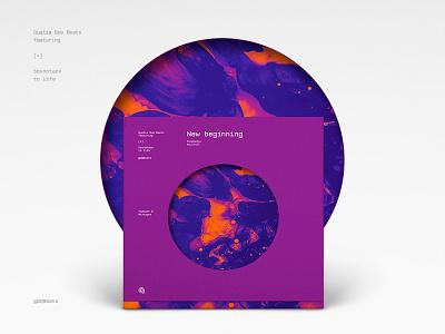 Qualia: New beginning [MMXVII] #Vinyl cover vinyl lable cover sound music vinylcover