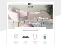 Furst Furniture E-commerce Website