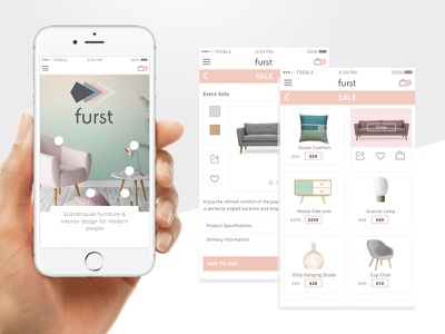Furst Furniture Responsive Website law jenna products ui furniture ecommerce mobile