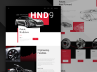 Concept Car Website