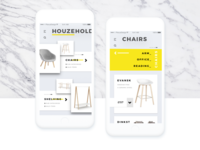 Furniture Design - Mobile App UI