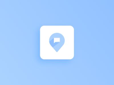 Egeote Logo chat vector mobile logo design logo ios icon flat design clean branding app