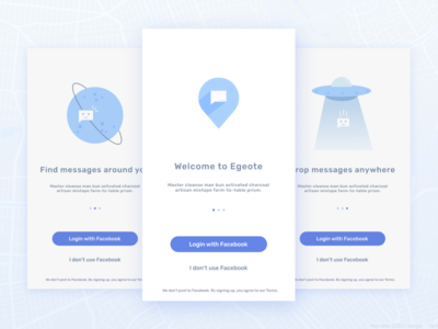 Egeote Onboarding (Updated) app illustration character clean onboarding design flat icon mobile vector ui ux