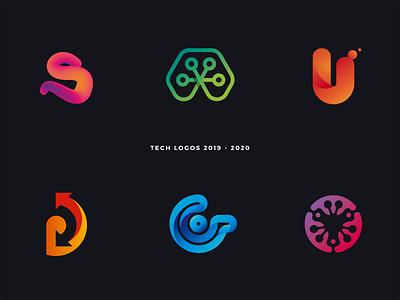 Simple logos 2019 - 2020 abstract logo tomato flower arrows letter d letter s letter u letter g letter logo frog design branding minimalist colorful technology tech simple brand logos logo