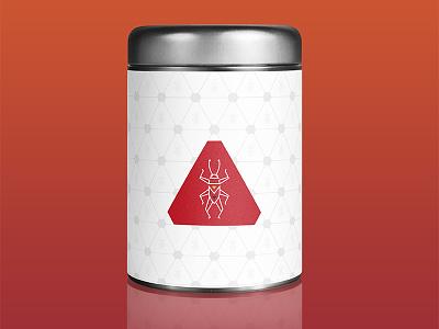 Cricket Foods line art logo cricket entomophagy insect vector logo
