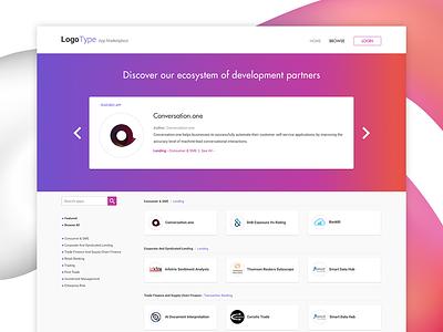App marketplace UI design ui cards ui design webdesign ui