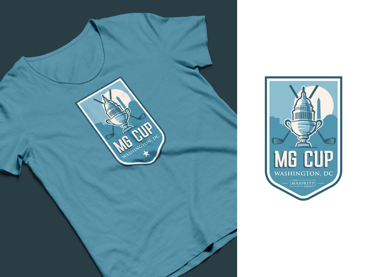 Mg Cup Logo capitol sport washington dc cup tournament golf sports logo logo vector