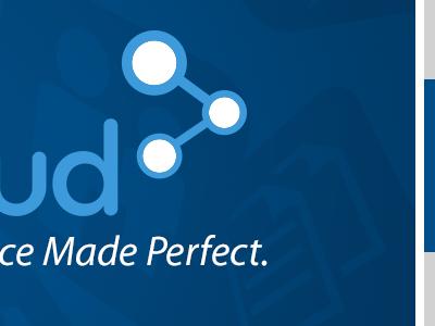 Slide Deck Cover powerpoint deck cover brand identity design cloud carecloud