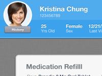 Patient Profile Banner