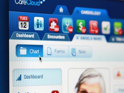 CareCloud EHR ui medical apps ehr