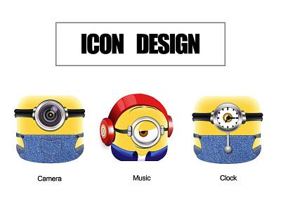 ICON DESIGN icon minions ui app